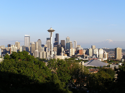 seattle skyline - flickr commons - dherrera_96