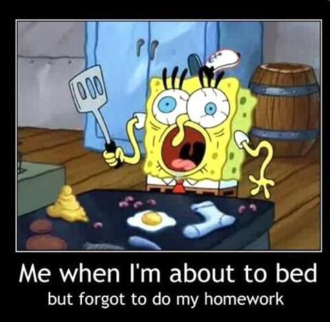 spongebobhomework